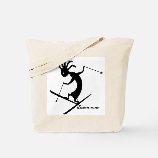 Kokopelli Extreme Skier Tote Bag