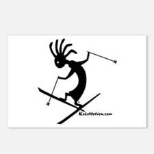 Kokopelli Extreme Skier Postcards (Package of 8)