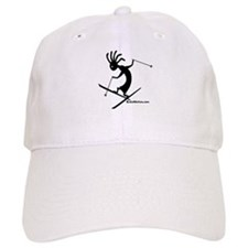 Kokopelli Extreme Skier Baseball Cap