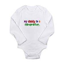 My Daddy Is A Chiropractor (PRIMARY) Body Suit