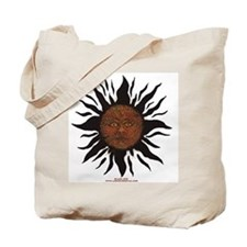 Black Sun Tote Bag