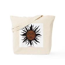 Black Sun Tote Bag