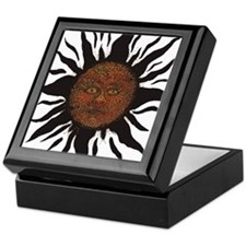 Black Sun Keepsake Box