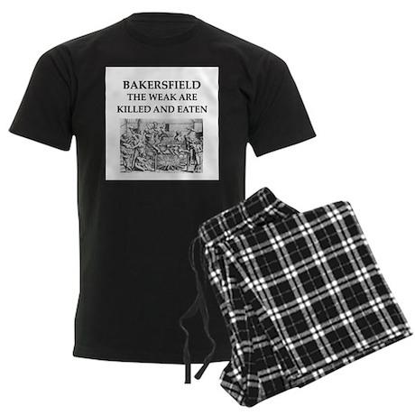 bakersfield Men's Dark Pajamas