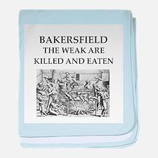 bakersfield baby blanket