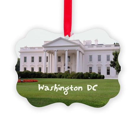 Washington DC Picture Ornament