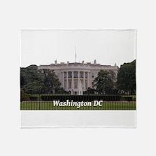 Washington DC Throw Blanket
