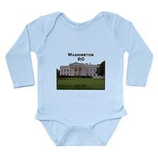 Washington DC Long Sleeve Infant Bodysuit