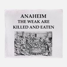 anaheim Throw Blanket