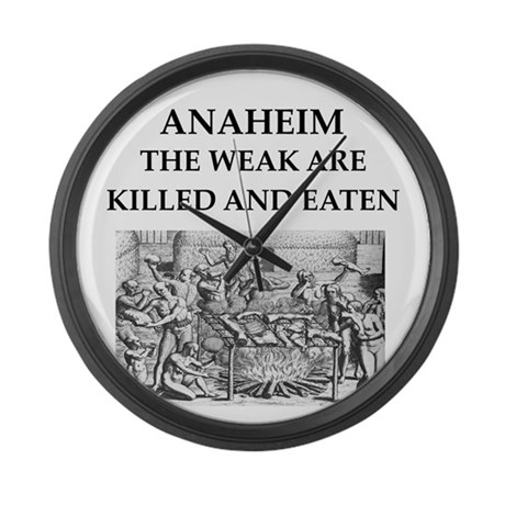 anaheim Large Wall Clock