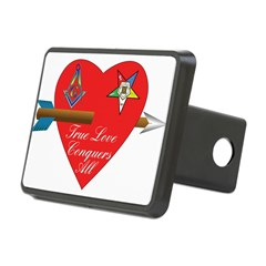 Valentine for the OES and Freemason Hitch Cover