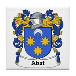Abat Coat of Arms Tile Coaster