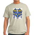 Abat Coat of Arms Ash Grey T-Shirt