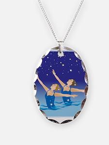 Unique Synchro swim Necklace