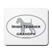 Irish Terrier GRANDPA Mousepad
