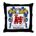 Abarbanel Coat of Arms Throw Pillow
