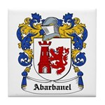 Abarbanel Coat of Arms Tile Coaster