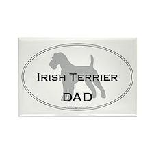 Irish Terrier DAD Rectangle Magnet