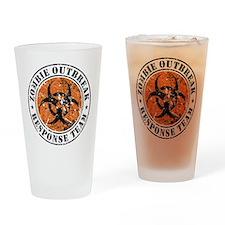 Zombie Outbreak Response Team 2 Drinking Glass