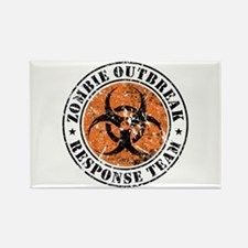 Zombie Outbreak Response Team 2 Rectangle Magnet