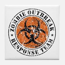 Zombie Outbreak Response Team 2 Tile Coaster
