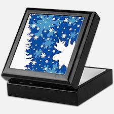 Christmas Moose Keepsake Box