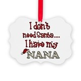 Nana Picture Frame Ornaments