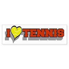 Tennis Bumper Bumper Bumper Sticker