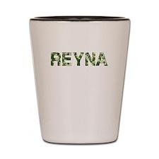 Reyna, Vintage Camo, Shot Glass