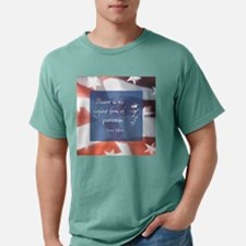 Cute Thomas jefferson peace Mens Comfort Colors Shirt