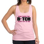 Wine-Bitch.png Racerback Tank Top