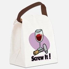 Wine-Screw-It.png Canvas Lunch Bag