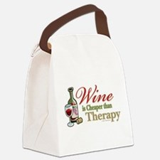 Wine-Cheaper-Than-Therapy.png Canvas Lunch Bag
