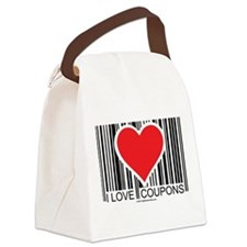 I-Love-Coupons.png Canvas Lunch Bag