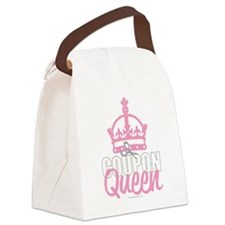 Coupon-Queen.png Canvas Lunch Bag