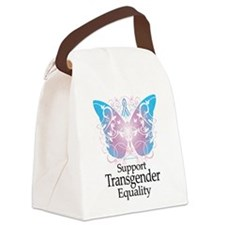 Transgender-Butterfly-A.png Canvas Lunch Bag