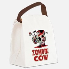 Zombie-Cow.png Canvas Lunch Bag