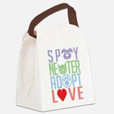 Spay-Neuter-Adopt-Love-2010.png Canvas Lunch Bag