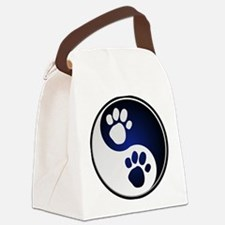 Paw Ying Yang.png Canvas Lunch Bag