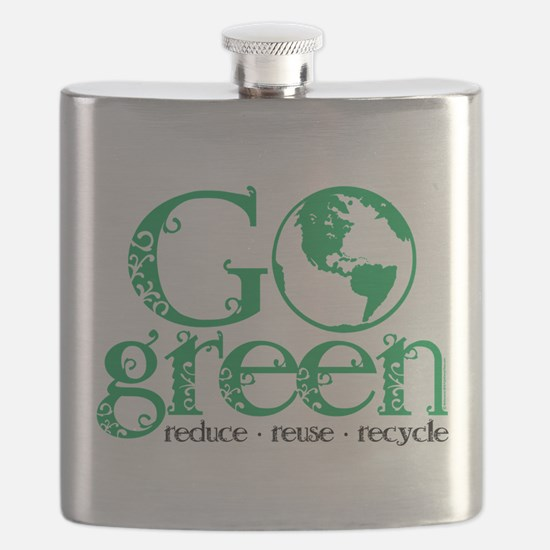 Go-Green.png Flask