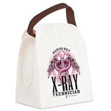 X-Ray-Tech-Pink-Caduceus.png Canvas Lunch Bag