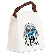 X-Ray-Tech-Caduceus.png Canvas Lunch Bag