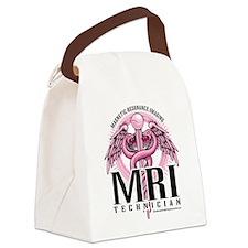 MRI-Pink-Caduceus.png Canvas Lunch Bag