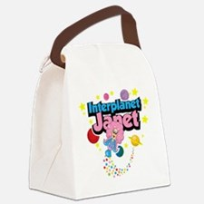 Interplanet-Janet.png Canvas Lunch Bag