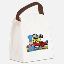 Conjunction-Junction.png Canvas Lunch Bag