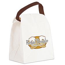 Regal Beagle.png Canvas Lunch Bag