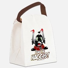 Fear-the-Haggis.png Canvas Lunch Bag