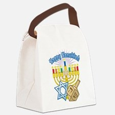 Hanukkah.png Canvas Lunch Bag