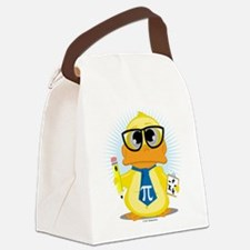 Math-Duck.png Canvas Lunch Bag