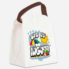 Due-in-August.png Canvas Lunch Bag